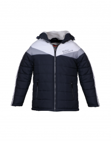 Baby Boy Jacket Navy Quilted