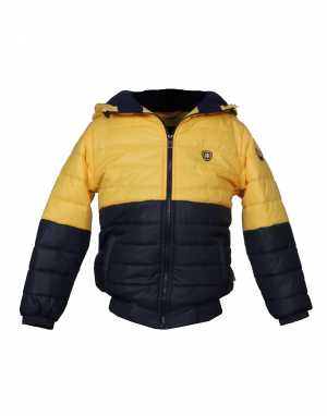 Boys Jacket Yellow Two color