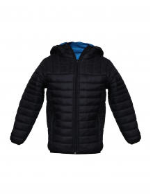 Boys Jacket Black Basic Reversible