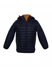 Baby Boy Jacket Navy Basic Reversible