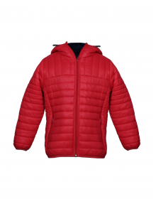 Baby Boy Jacket Red Basic Reversible