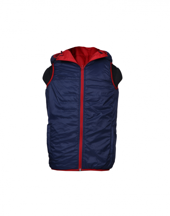 Boys Jacket Red sl Reversible
