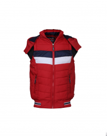 Baby Boy Jacket Red Sporty sl Quilted