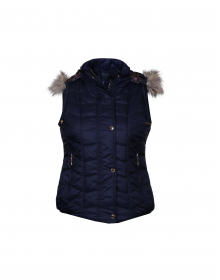 Girls Jacket Navy sl Basic