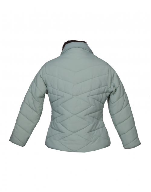 Girls Jacket Mint Quilted