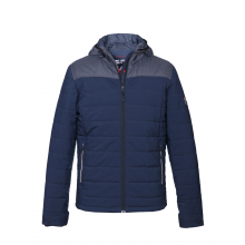 Men Jacket Navy Sporty Quilted