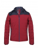 Men Jacket Red Sporty Quilted