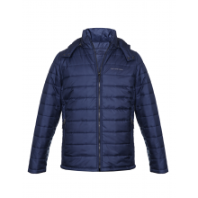 Men Jacket Navy Quilted Reversible