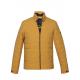 Men Jacket Gold Quilted Basic