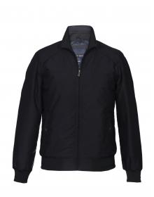Men Jacket Black Basic Light Weight