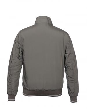 Men Jacket Olive Light Weight Sporty