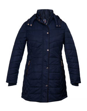 Womens Jacket Navy Basic
