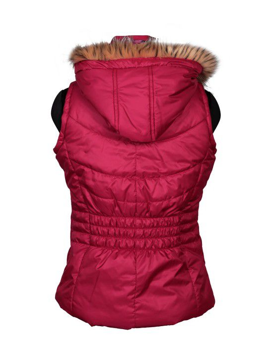 Girls SL Quilted Jacket Rose