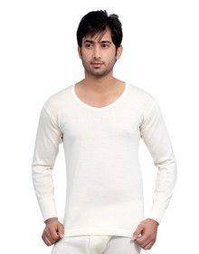 Mens Pure Wool Vest FS Plus size Body warmers Cream