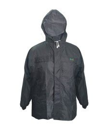 Stellar Raincoat Set for mens waterproof with carry bag grey