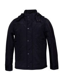 Mens Long Sleeve Jacket Black