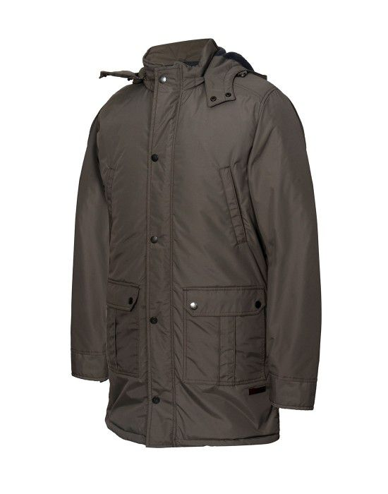 Men Parka Jacket Full Sleeve Mouse