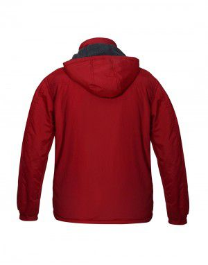 Mens Reversible Jacket Red