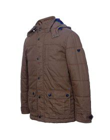 Men Jacket Cotton Tan