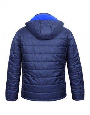 Mens Jacket Reversible Navy