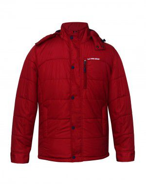 Men Jacket Sporty Red