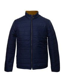 Mens Jacket light weight Reversible Navy