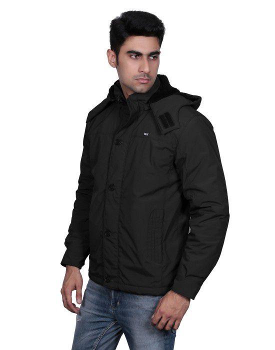 Mens Long Sleeve Jacket Black