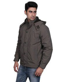 Mens Long Sleeve Jacket Olive