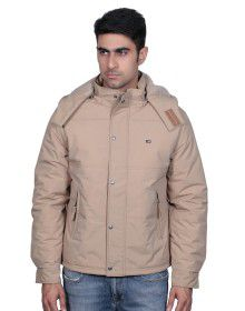 Mens Jacket Full Sleeve Camel