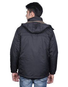 Mens 2 in 1 Jacket FS Black