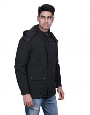 Mens Jacket FULL Sleeve Black