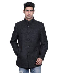Men Wool Coat FS Anthra
