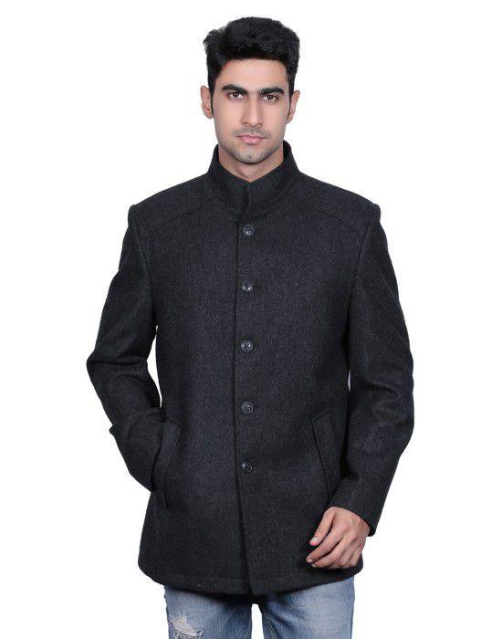 Men Wool Coat FS Anthra
