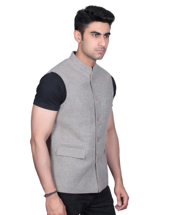 Men SL Wool Coat Faun bindi