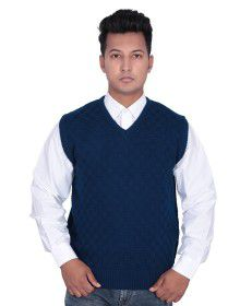 Mens SL sweater self design Blue