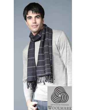Premium Purewool Muffler Horizontal Stripes