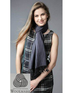 Premium Purewool Muffler Vertical Stripes