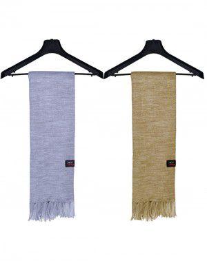 Unisex Premium Acrylic wool Mufflers Plain Combo5