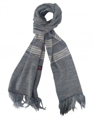 Acrylic wool Muffler designer Grey