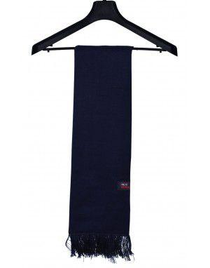 Acrylic Wool Muffler Plain Navy
