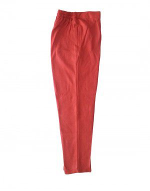 Womens woollen pants plain design peach color