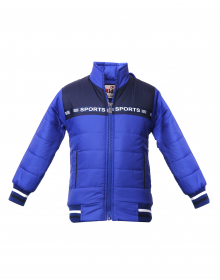 Kids Jacket Royal Blue thick Quilted