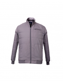 Mens Jacket Grey plain