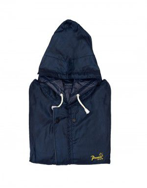 challenger raincoat set mens with carry bag navy