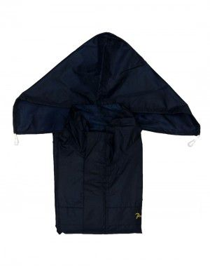 stellar raincoat set for mens with carry bag navy
