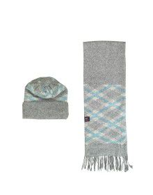 Muffler cap set design square