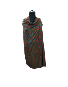 Semi Pashmina shawl multi color