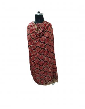 women designer  maroon shawls