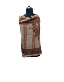 women designer Shawls brown clour