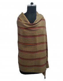 multi stripes wool blend broad stripes lining stole